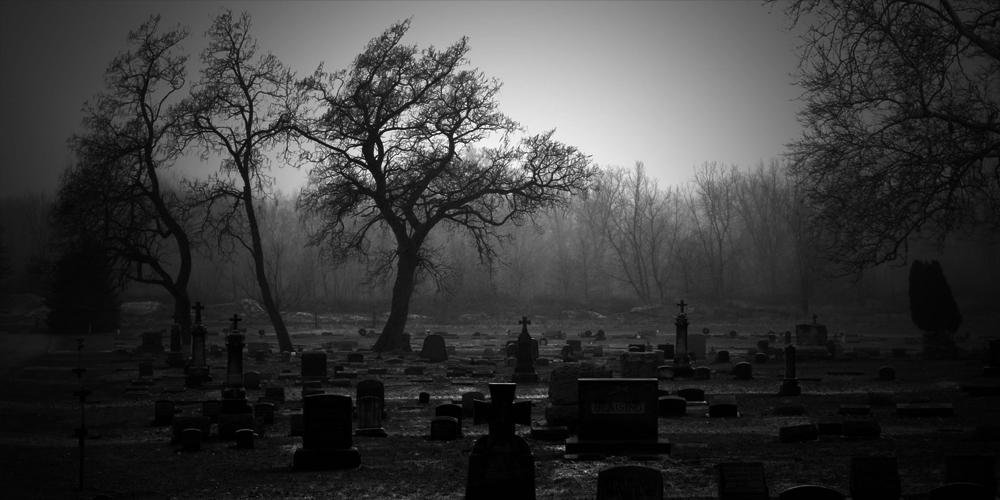 Los niños del cementerio quieren jugar