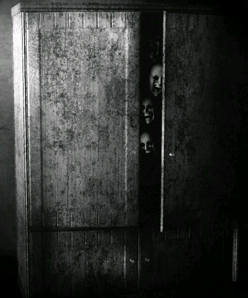 cuento de terror El armario maldito