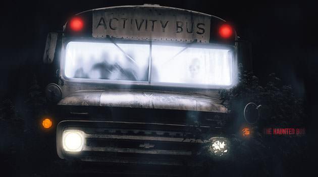 cuento de terror El autobús del cementerio