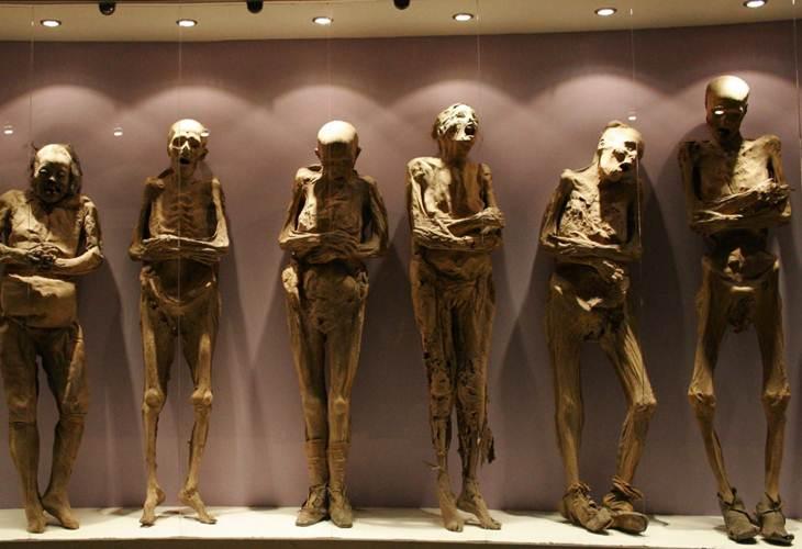 Cuentos de terror Las momias del Dr. Knoche
